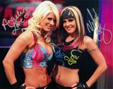 Angelina Love Velvet Sky TNA Impact Signed Auto 8x10 Photo W Proof