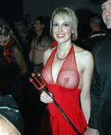 ... Big Tits Blonde Devil Lingerie MILF Nipples Public See Through Topless