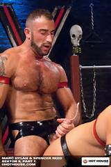Spencer Reed Leather Rubber Fetish Gear Hot House Muscular Gay Porn
