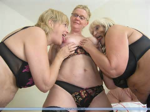 Lesbian Lovers Granny Threesomes And Pussy Licking From Female Pain